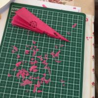 薔薇色の一日  ちょこちょこのお家日和コラボ教室 第4弾