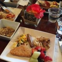ホテル(キャビン)の朝ご飯