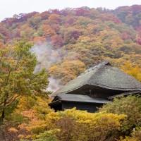 乳頭温泉郷の紅葉
