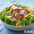 彩り野菜のショートパスタ