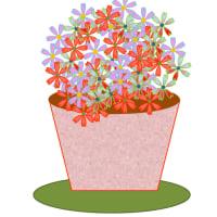 お花を描きましょう