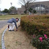 スポーツ少年団拳法会と清掃ボランティア!世界に広げようGomihiroi!