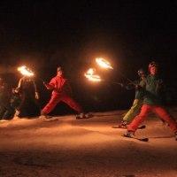 須原スキー場でカーニバル