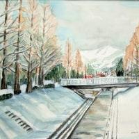 雪の維新公園