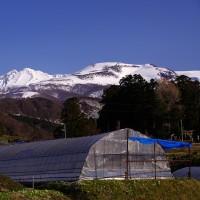 鳥海山のある風景(横岡付近)