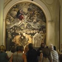 楽しかった旅の一コマ (126) 古都トレドの中心 サント・トメ教会