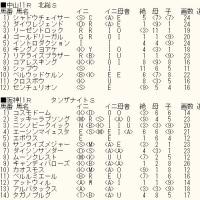 「チャンピオンズC」未掲載6頭のカバラ暗示とWIN5対象レースのカバラ暗示付き出馬表
