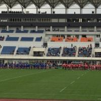 平尾誠二さんの黙祷から始まったキヤノンイーグルスとパナソニックワイルドナイツの試合、13:29でイーグルスは負けてしまったけれど、試合終了後のグリーティングは、出場選手が全員行ってくれました。