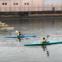 水上練習(H29.3.26)