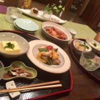 鶏とナスとパプリカの味噌炒めの夕ご飯