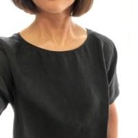 リネンのシャツ・・・今夏はブラック