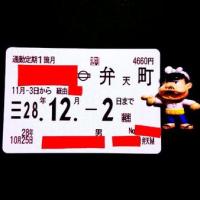 仕事帰り→丸刈りの散髪&継続の通勤定期券を購入ッス♪