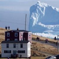 巨大氷山と消えたポテチ