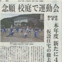 末崎小学校 運動会