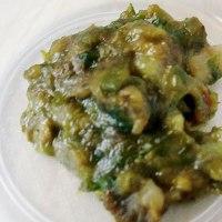蕗(ふき)の薹(とう)の天ぷらと…弁当/ランプシェード