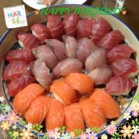 息子の誕生日〜お寿司〜