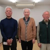 NTT石川OB囲碁大会模様  (平成28年度第4回・通算52回)