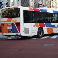 東急バス20周年記念塗装車(高津営業所TA1136)