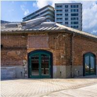 神戸・ハ-バ-ランドの赤レンガ倉庫