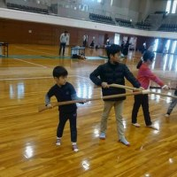 銃剣道体験