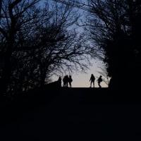夜の高尾山