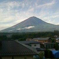 富士山@鳴沢村