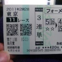 ひさしぶりの競馬予想 ~皐月賞~
