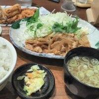 オリジンダイニング 生姜焼き定食