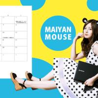 「mouse×乃木坂46」2017年の壁紙カレンダー第2弾作ってみた!(笑)