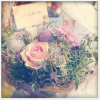 花束を〜♪