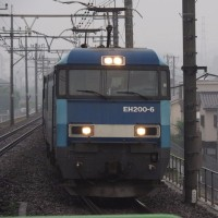 2017年6月28日,今朝の中央線 81レ EH200-6
