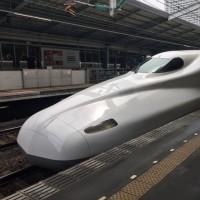 JR新幹線・新神戸駅発「ひかり470号」京都駅着(東福寺)
