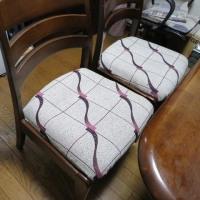 椅子の貼り換え