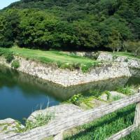 滞在型家庭菜園:萩城のお堀