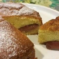 リンゴのケーキ、試作