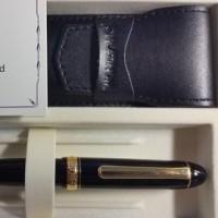 新しい万年筆