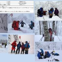 2017年2月OSAC計画山行荒島岳、速報の巻
