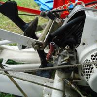 田植え機の修理