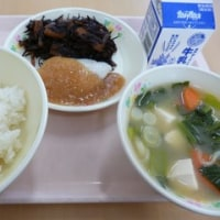 平成29年3月22日(水)給食