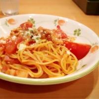 フレッシュトマトのパスタ