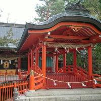 生島足島神社へ