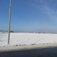 10月の雪