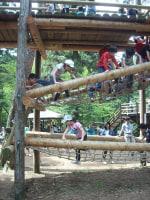 清水公園(千葉県野田市)で子供とアスレチック 24-04-29