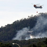 沖縄米軍のヘリが墜落