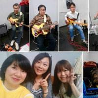 COO Live に向けて最後のバンド練習(3月19日)