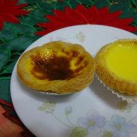 香港風、マカオ風 2種類のエッグタルトを食べ比べてみました