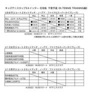 キッズテニスカップ34インター石垣島 千葉予選 10歳ドロー(2237)