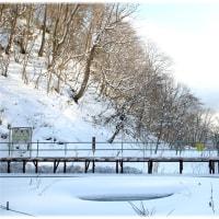 豊浦町 「日本一の秘境駅 小幌駅 2017冬」