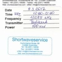 Shortwaveservice QSL