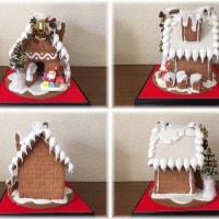 ヘキセンハウス(お菓子のおうち)作りました♪